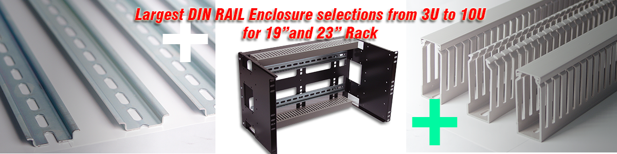 Industrial DIN Rail Panels and Enclosures