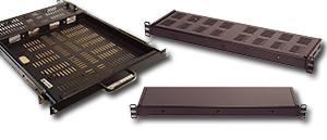 Rackmount Enclosures, Mini Shelves, Fix Shelves and Sliding Shelves